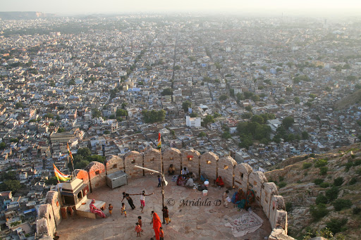 View of the city from Nahargarh Fort